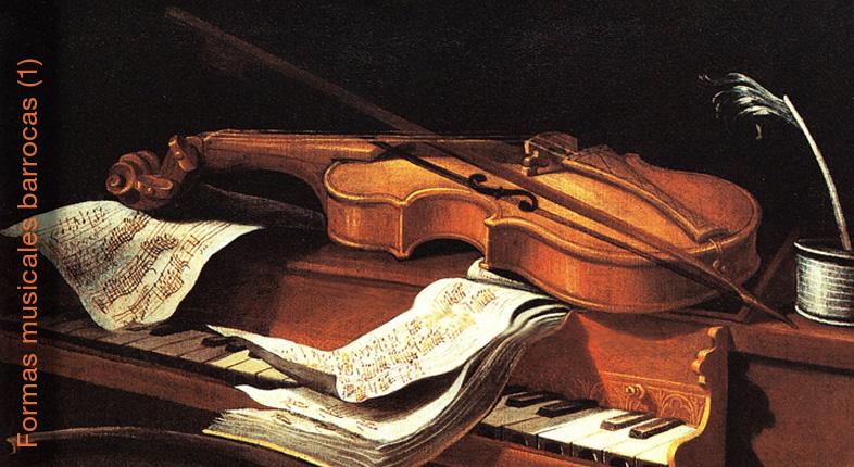 formas musicales barrocas