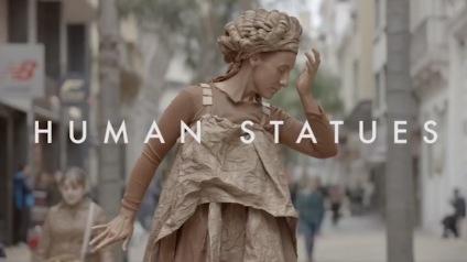 unicef-end-violence-human-statues