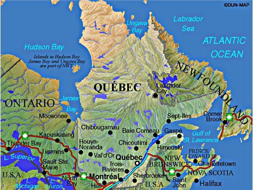 mapa-quebec